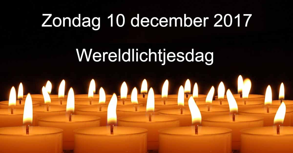 Kaarsje Branden Overleden Kind.Wereldlichtjesdag Op 10 December 2017 Voor Kinderen En